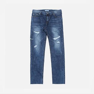 1区韩国本土服装代购(韩国圆通直发)stylehomme-时尚宽松破损牛仔裤(2018-04-14上架)