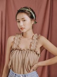 stylenanda-韩国魅力十足纯色韩国代购吊带女装2017年07月31日夏季款