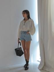 stylenanda-韩国夏季魅力牛仔韩国代购短裤女装2017年08月01日08月款
