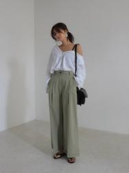 stylenanda-韩国夏季时尚阔腿韩国代购长裤女装2017年08月01日08月款