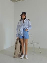 stylenanda-韩国韩版时尚牛仔韩国代购短裤女装2017年08月01日08月款