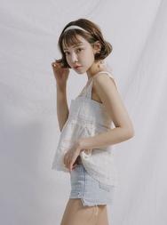 stylenanda-韩国时尚可人纯色韩国代购吊带女装2017年08月01日08月款