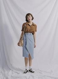 stylenanda-韩国韩版时尚牛仔韩国代购长裙女装2017年08月01日08月款