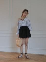 stylenanda-韩国休闲纯色女士韩国代购短裤女装2017年08月07日08月款