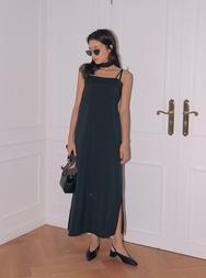 stylenanda-韩国干练有品位纯色韩国代购正品连衣裙女装2017年08月09日08月款