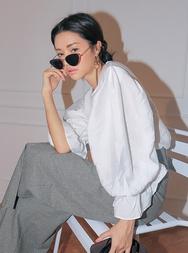 stylenanda-韩国韩版魅力时尚雪纺衫女装2017年08月09日08月款