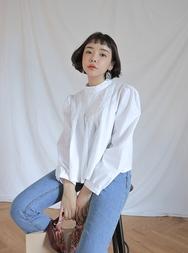stylenanda-韩国时尚魅力纯色雪纺衫女装2017年08月14日08月款