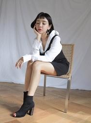 stylenanda-韩国休闲时尚纯色韩国代购正品连衣裙女装2017年08月14日08月款