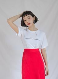stylenanda-韩国魅力时尚圆领韩国代购T恤女装2017年08月14日08月款