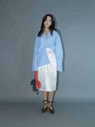 stylenanda-韩国魅力时尚纯色韩国代购长裙女装2017年08月14日08月款