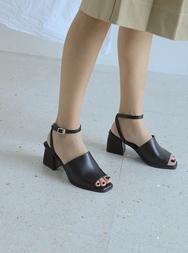 stylenanda-韩国夏季休闲纯色韩国代购正品高跟鞋女装2017年08月14日08月款