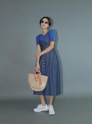 stylenanda-韩国百搭时尚长款韩国代购正品连衣裙女装2017年08月14日08月款