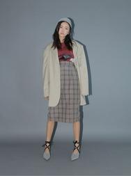stylenanda-韩国魅力时尚格纹韩国代购长裙女装2017年08月14日08月款