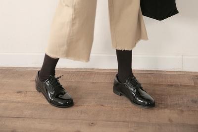 stylenanda-帅气时尚纯色皮鞋