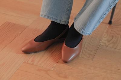 stylenanda-休闲时尚纯平底鞋