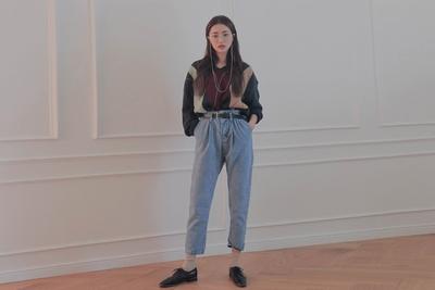 stylenanda-日常魅力纯棉牛仔裤