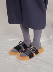 1区2017冬季新款韩国服装stylenanda品牌魅力休闲女士拖鞋(2017.12月)