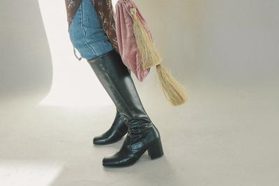 stylenanda-帅气魅力纯色靴子
