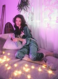 1区2017冬季新款韩国服装stylenanda品牌韩版魅力女士睡衣(2017.12月)