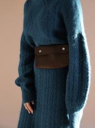1区2017冬季新款韩国服装stylenanda品牌高档纯色牛皮包包(2017.12月)