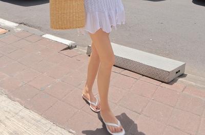 1区韩国本土服装代购(韩国圆通直发)stylenanda-百搭舒适韩版人字拖鞋(2018-04-19上架)