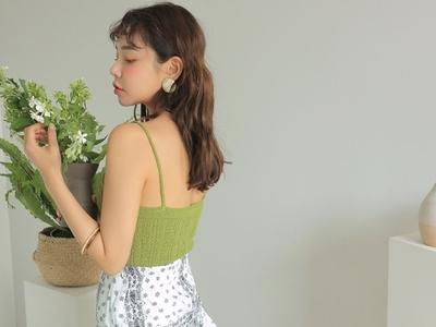1区韩国本土服装代购(韩国圆通直发)stylenanda-吊带(2018-07-14上架)