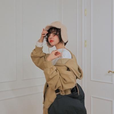 1区韩国本土服装代购(韩国圆通直发)stylenanda-开襟卫衣(2018-11-20上架)