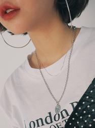 2018新款韩国服装stylenanda品牌简约韩版纯色项链(2018.1月)
