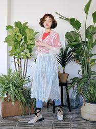 2018新款韩国服装stylenanda品牌性感优雅蕾丝连衣裙(2018.1月)