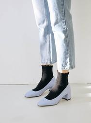 2018新款韩国服装stylenanda品牌简约纯色百搭高跟鞋(2018.1月)
