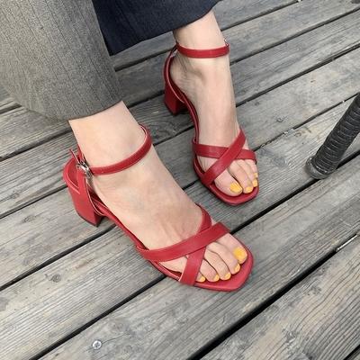 1区韩国本土服装代购(韩国圆通直发)stylenanda-凉鞋(2019-03-09上架)