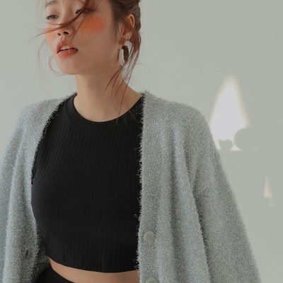 1区韩国本土服装代购(韩国圆通直发)stylenanda-开襟衫(2019-03-20上架)