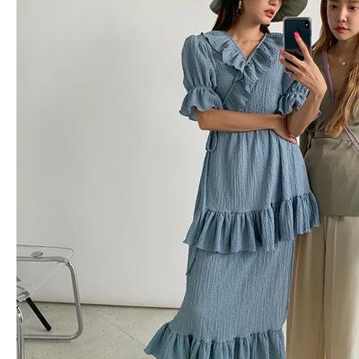 1區100%正宗韓國官網代購(韓國直發包國際運費)stylenanda-連衣裙(2019-08-19上架)