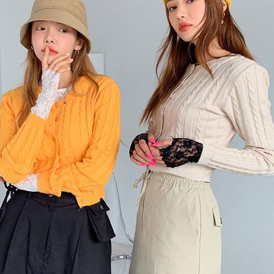 1区100%正宗韩国官网代购(韩国直发包国际运费)stylenanda-开襟衫(2019-08-19上架)