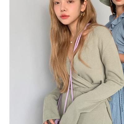 1区100%正宗韩国官网代购(韩国直发包国际运费)stylenanda-针织衫(2019-08-19上架)