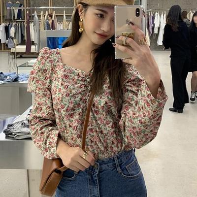 1区100%正宗韩国官网代购(韩国直发包国际运费)stylenanda-衬衫(2019-10-18上架)