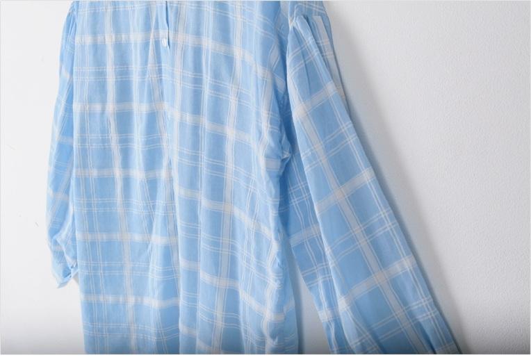 蓝色亚麻窗帘效果图