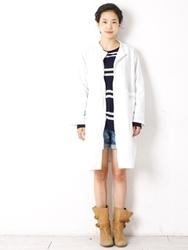 1区韩国代购正品验证sultang-STCT00756225-宽松简单新款百搭时尚大衣