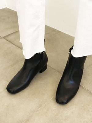 1区韩国本土服装代购(韩国圆通直发)Tamnana-春季韩版时尚短腰靴(本商品是非新品,请联系客服核对再下单哦21上架)