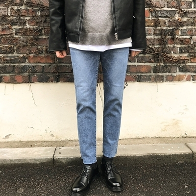 1区韩国本土服装代购(韩国圆通直发)theaction-牛仔裤(2019-03-08上架)