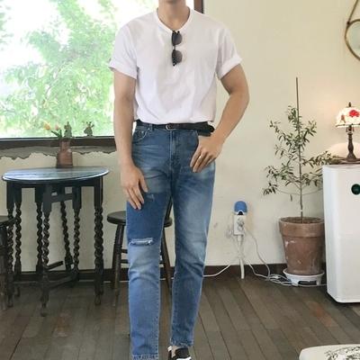 1区100%正宗韩国官网代购(韩国直发包国际运费)theaction-牛仔裤(2019-07-02上架)