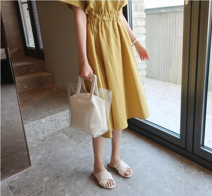 1区韩国本土服装代购(韩国圆通直发)TheJsoo-拖鞋(2019-03-01上架)