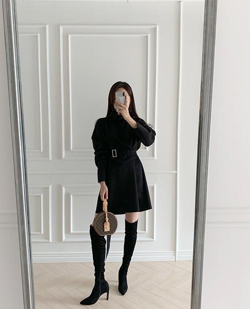1区100%正宗韩国官网代购(韩国直发包国际运费)TheJsoo-连衣裙(2019-11-08上架)