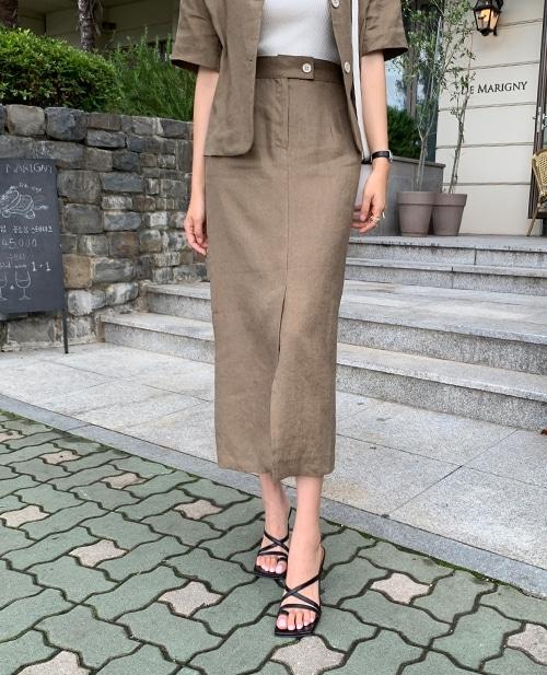 1区100%正宗韩国官网代购(韩国直发包国际运费)TheJsoo-长裙(2020-07-04上架)