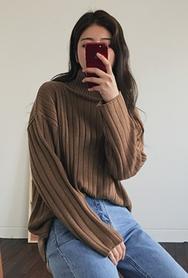 2018新款韩国服装myze品牌韩版时尚宽松针织衫(2018.1月)