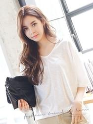 1区韩国服装网店代理一件代发tomnrabbit-TRTS00928662-薄款舒适清纯宽松T恤