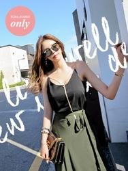 tomnrabbit-韩国时尚气质金色链设计韩国代购正品衬衫女装2017年06月20日06月款