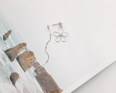 1区韩国本土服装代购(韩国圆通直发)tomnrabbit-春天花朵宽松耳环(2018-04-24上架)