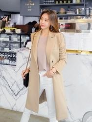 2018新款韩国服装tomnrabbit品牌长款冬季韩版气质夹克(2018.1月)