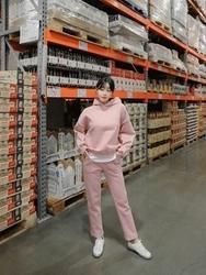 2018新款韩国服装tomnrabbit品牌纯色韩版冬季休闲套装(上衣+裤子)(2018.1月)